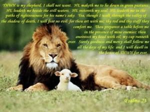 Psalm23 Yeshua